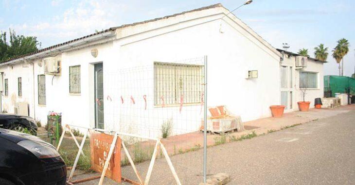 La casa donde vive la familia del tristemente desaparecido Urbano desde la construcción de la Ciudad Deportiva a principios de siglo.