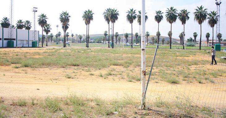 Una de las últimas imágenes de dejadez vista en la Ciudad Deportiva.Una de las últimas imágenes de dejadez vista en la Ciudad Deportiva.