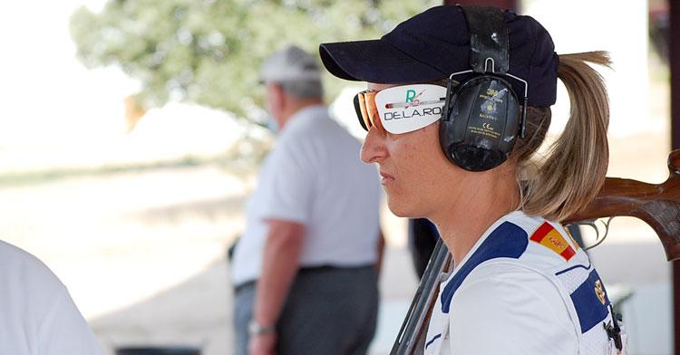 Fátima Gálvez durante la competición en Mérida. Foto: RFEDETO