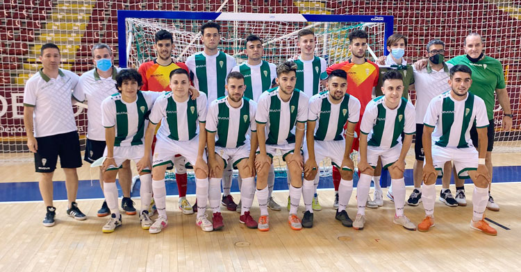 El equipo que logró el ascenso a Tercera. Foto: Córdoba Futsal