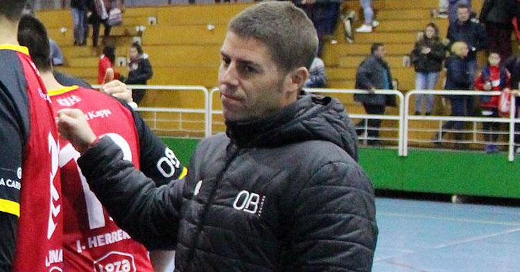 Pepe Morales en su etapa en el Córdoba de Balonmano. Foto: CBM