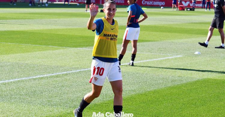 Virgy García dice un sentido adiós a su etapa como jugadora. Foto: Ada Caballero / www.futbolisticas.com