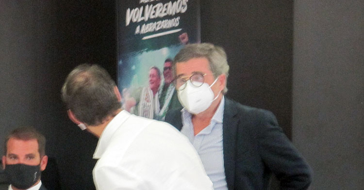 Carlos González en la Junta de Accionistas de agosto de 2020
