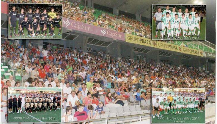 La Tribuna de El Arcángel llena en la última edición del Torneo Ciudad de los Califas celebrado en 2011.