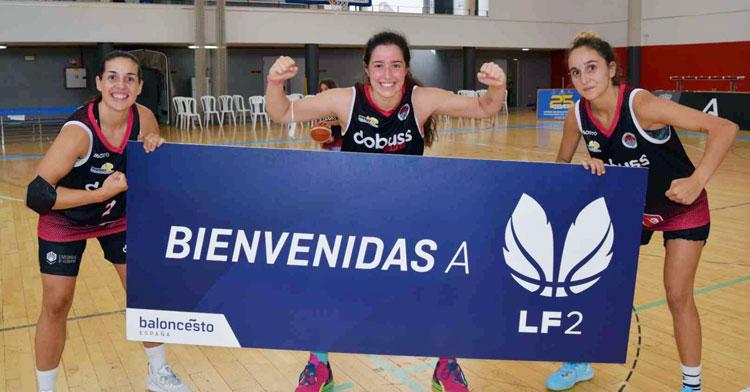 La alegría tras el ascensso del Córdoba Baloncesto Femenino. Foto: Laclasi.es
