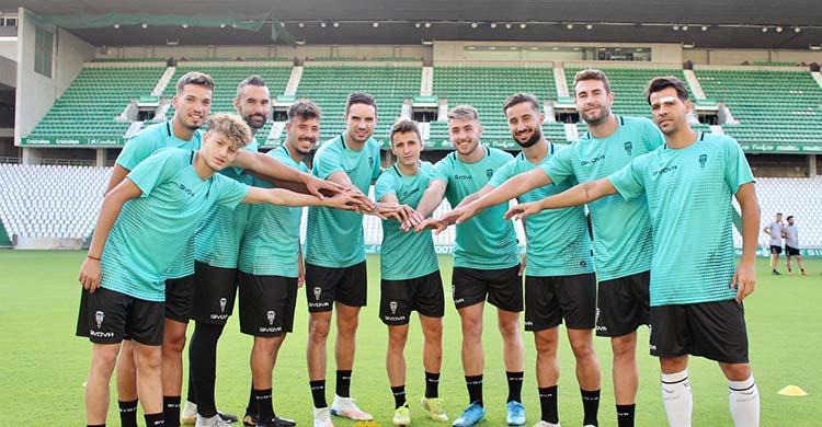 Los diez fichajes del Córdoba CF, a los que hay que añadir el de Adrián Fuentes.