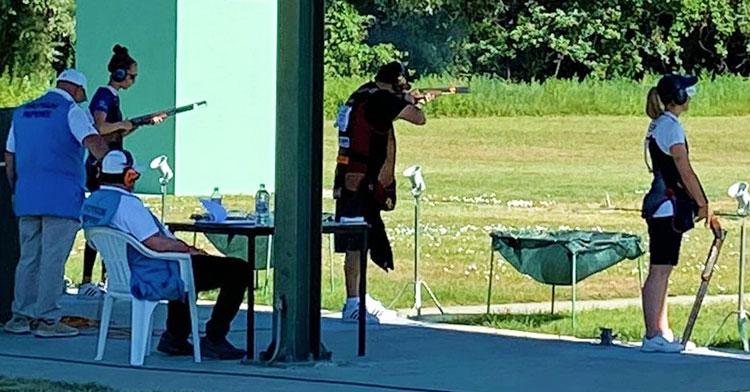 Un momento de la competición en Croacia. Foto: RFEDETO