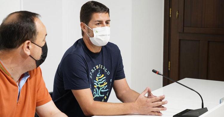 Pepe Morales el día de su presentación. Foto: CBM Pozoblanco