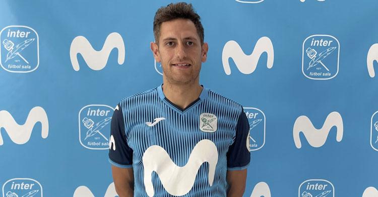 Rafa López lucirá el 17 en su camiseta interista. Foto: Movistar Inter