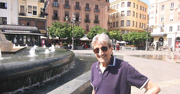 La sonrisa de Rafael Jaén en la Plaza de las Tendidas.