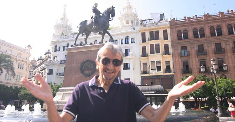 Rafael Jaén gesticula en su adiós durante su entrevista en Las Tendidas.