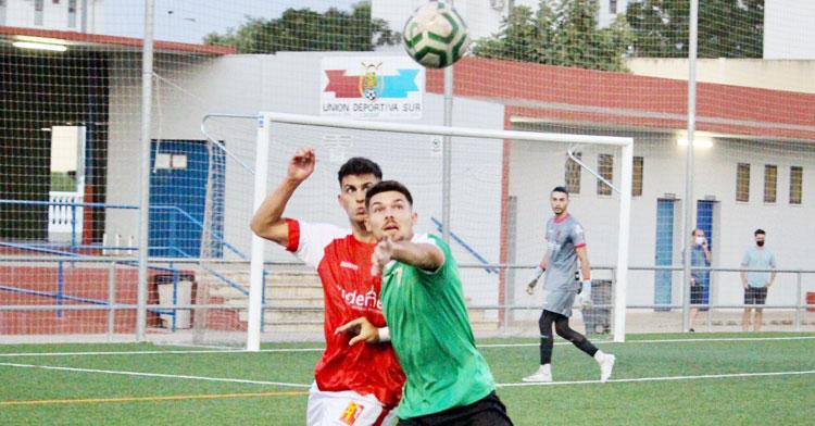 El Espeleño en su partido frente al filial del Córdoba. Foto: CCF