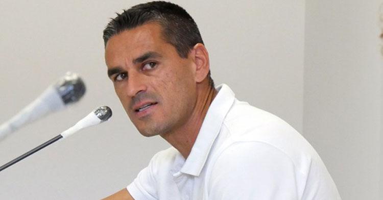 Juanito en una de sus recieentes ruedas de prensa. Foto: CCF