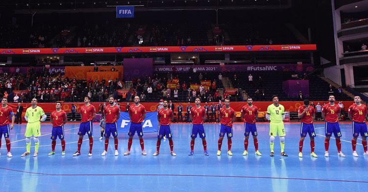La selección española vuelve a quedarse en cuartos, como ya le pasó en Colombia. Foto: Getty Images