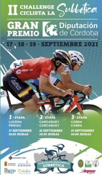 El cartel de la Challenge ciclista de la Subbética.