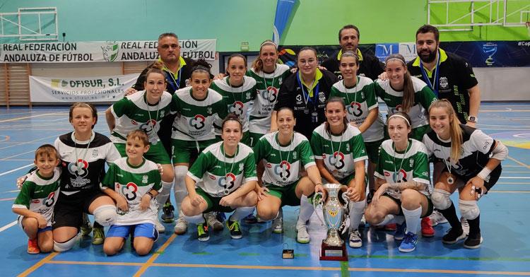 El Deportivo Córdoba con el torneo de subcampeón