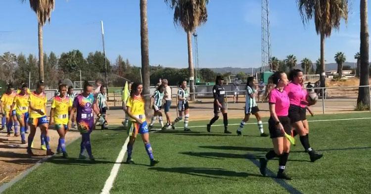 El partido del Córdoba Femenino del otro día fue a puerta abierta sólo puntualmente. Imagen: CCF