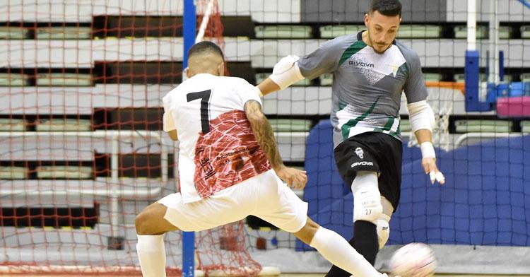 Cristian Ramos es uno de los pocos jugadores sanos del equipo. Foto: Córdoba Futsal