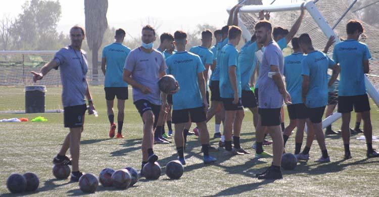 Todo ilusión. El Córdoba B arranca su temporada buscando las mejores cotas