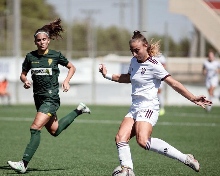 El Córdoba B empezó ganando en tierras manchegas. Foto: CD Alba Fundación