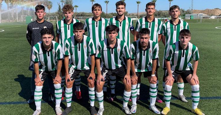 El juvenil A del Córdoba deberá mejorar sus prestaciones. Foto: @Cantera_CCF