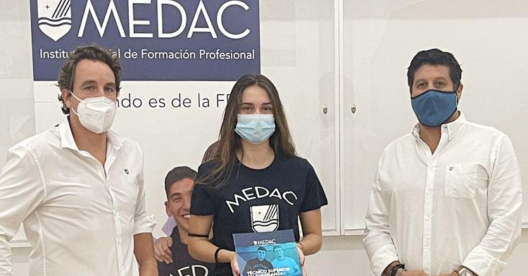 Kikas Barreiros en su presentación en Medac