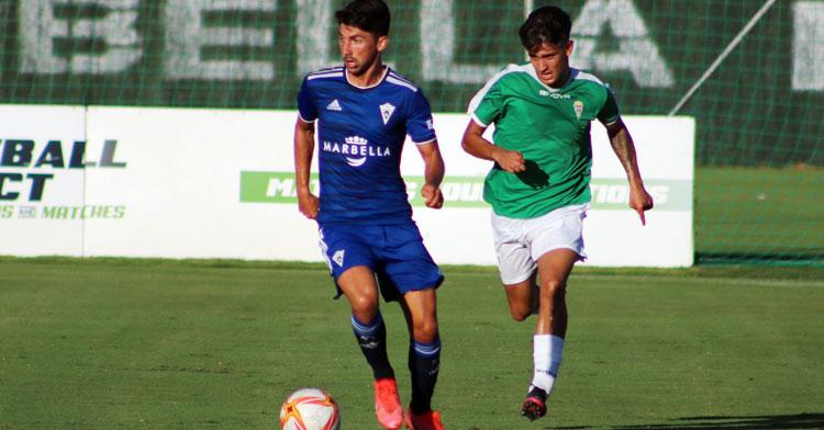 El Córdoba B cayó en Marbella. Foto: Marbella FC