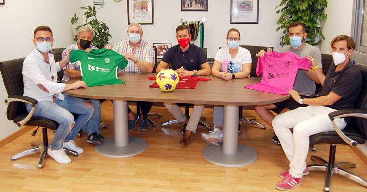 La reunión de Martín Torralbo con algunos de los seleccionadores para la nueva temporada. Foto: RFAF