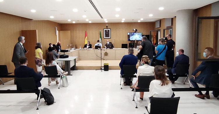 Un momento de la Junta de Acreedores vivida en el Juzgado de lo Mercantil