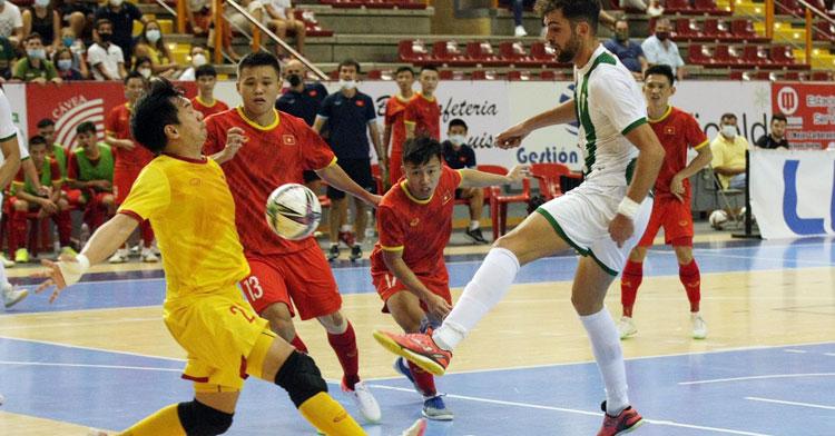 Zequi fue uno de los goleadores ante Vietnam. Foto: Córdoba Futsal