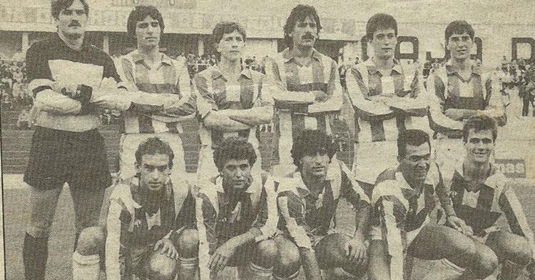 Una imagen histórica del Antequerano, al que el Córdoba se midió en alguna ocasión que otra a lo largo de su historia. Foto: futbolmodestoandaluz.blogspot.com