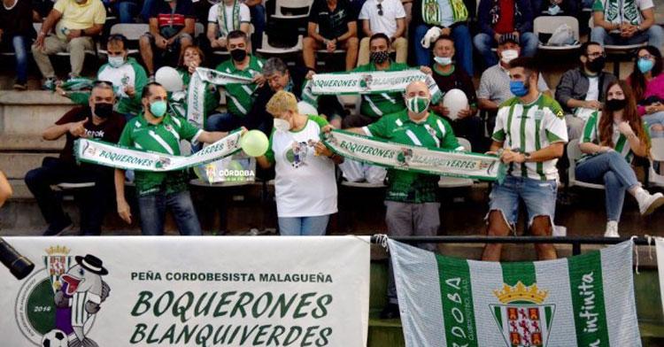 El último desplazamiento de afición cordobesista, a Torremolinos. Foto: CCF