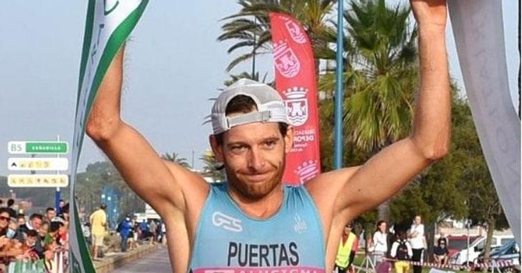 Camilo Puertas en una imagen de competición de esta temporada