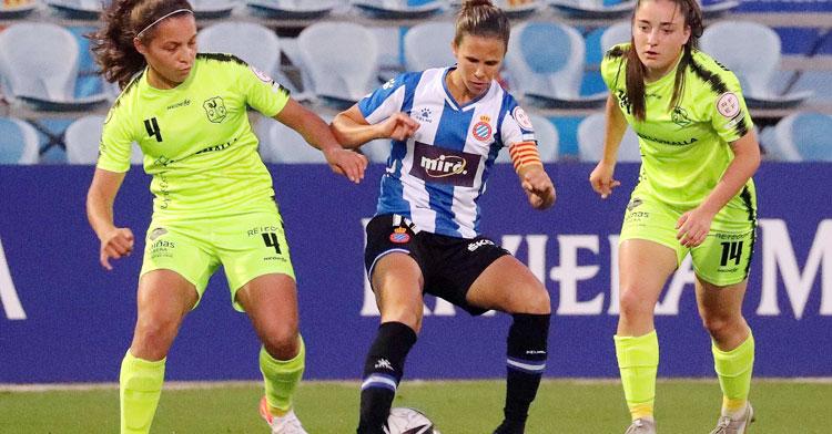 Su gran partido en Barcelona no le valió a las de Los Pedroches para pasar. Foto: RCD Espanyol Femení
