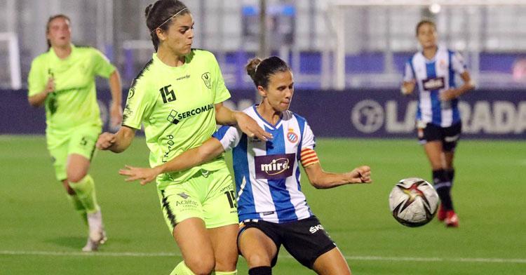 El Pozoalbense dio la cara en la Ciudad Deportiva Dani Jarque. Foto: RCD Espanyol Femení