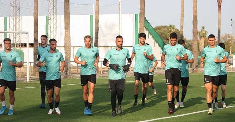 Felipe Ramos, Casas, Adrián Fuentes, entre otros, haciendo carrera continua.