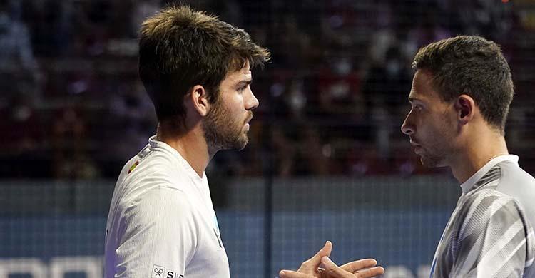 Javi Garrido y Lucas Campagnolo no pudieron lograr el pase a los cuartos de final del Victoria Open Córdoba.