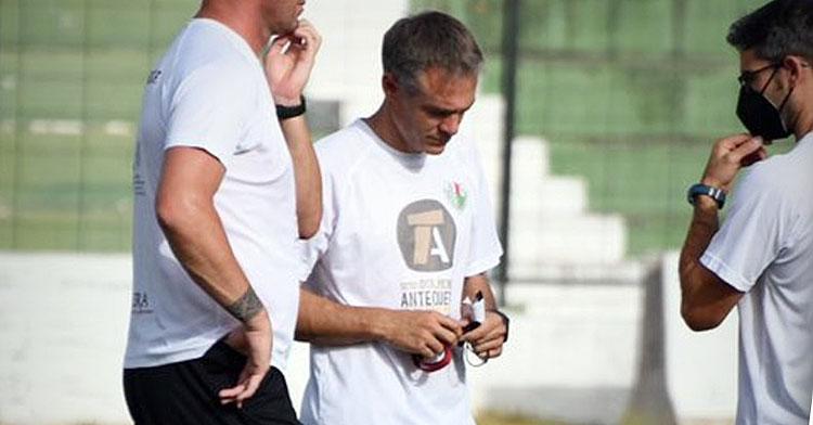 Nacho Pérez, entrenador verdiblanco