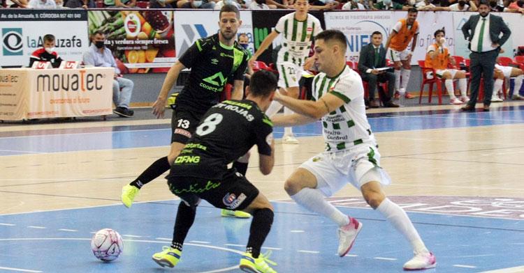 Álex Viana y el Córdoba Patrimonio de la Humanidad buscarán el triunfo en Burela. Foto: Córdoba Futsal