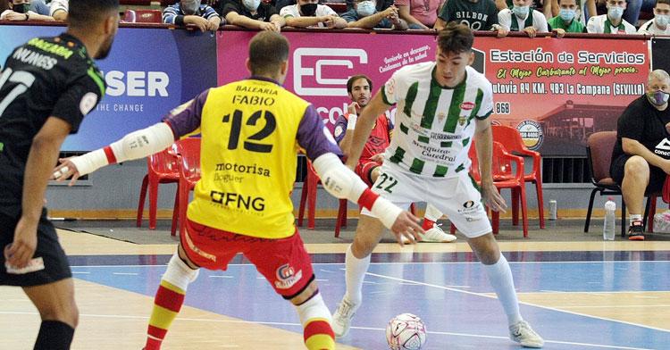 Ricardo en el choque contra el Palma Futsal en Vista Alegre. Foto: Córdoba Futsal