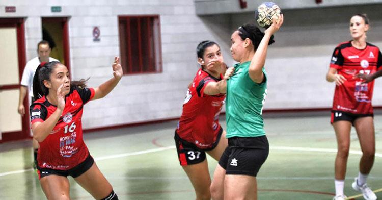 El Itea Córdoba cosechó su primera derrota fuera de casa esta campaña. Foto: Balonmano Roquetas