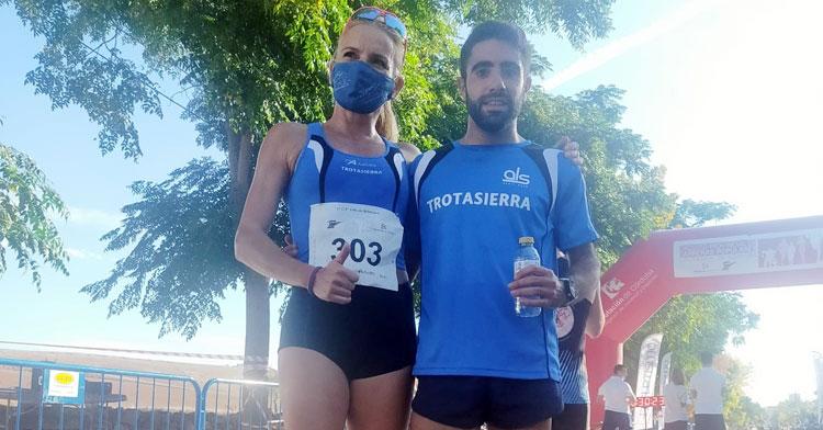 Los ganadores de la Popular de Belalcázar. Foto: Club Trotasierra