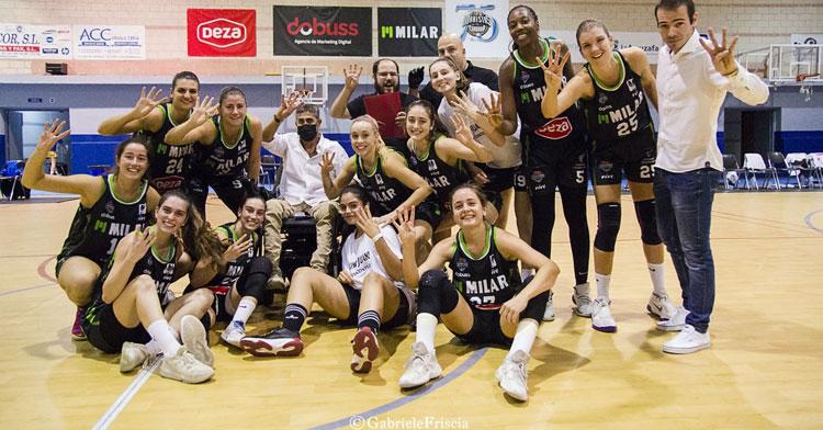 Con la cuarta por delante. Excelente arranque del Milar Córdoba Baloncesto Femenino. Foto: Gabriele Friscia