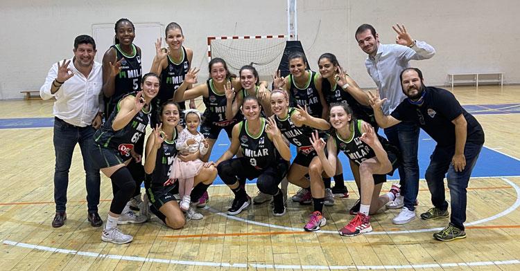 Otra victoria más para el Milar Córdoba Baloncesto Femenino, esta vez en León